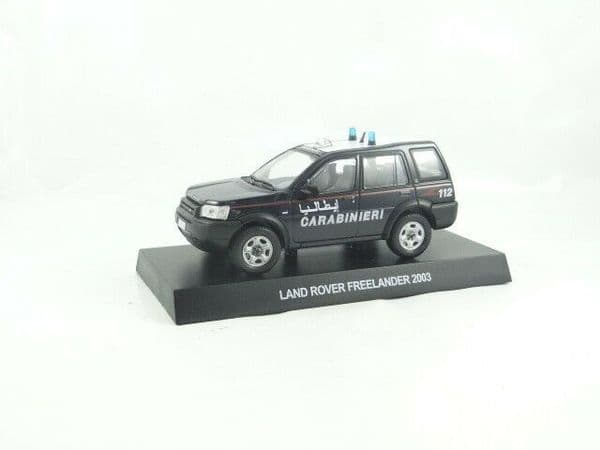 Atlas KR43 1/43 Scale Land Rover Freelander 2003 -  Carabinieri Italian Police